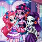 Играть Девушки Кантерлоте: реальный макияж онлайн