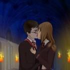 Играть Поцелуй Гарри Поттера онлайн