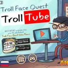 Играть Trollface Quest TrollTube онлайн